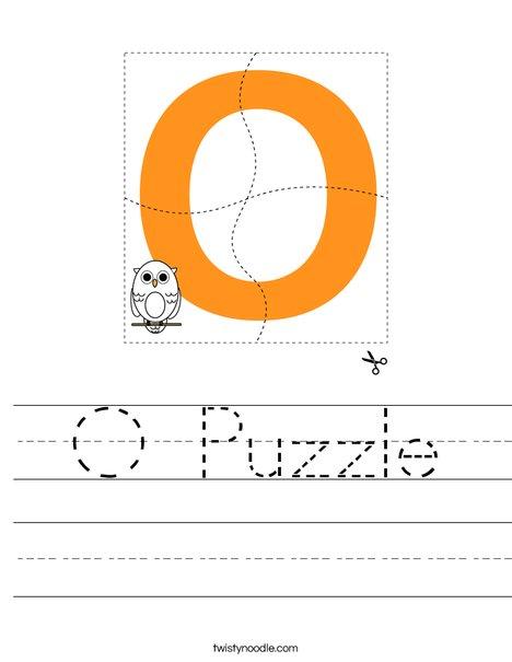 O Puzzle Worksheet