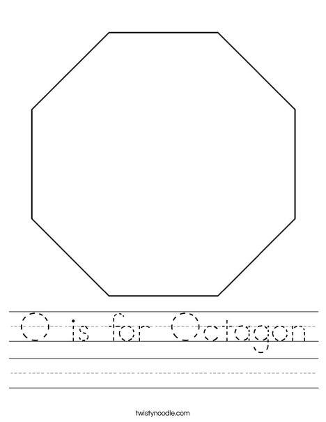 Octagon Worksheet