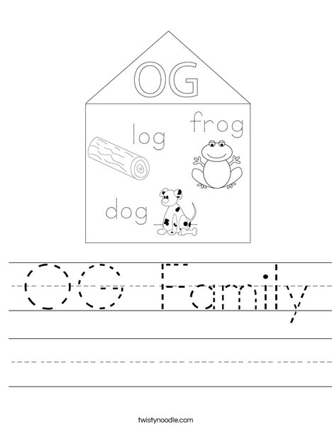 OG Family Worksheet
