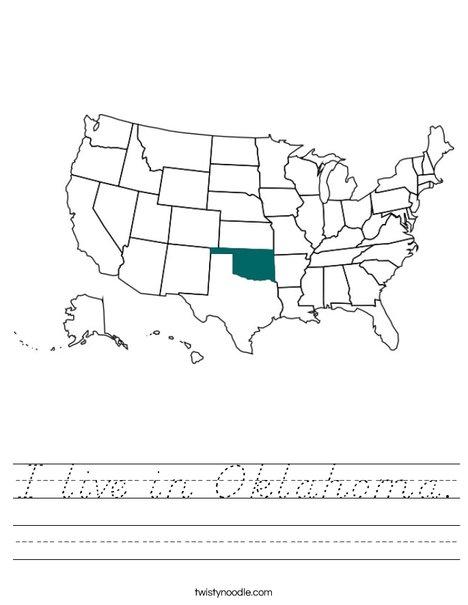 Oklahoma Worksheet