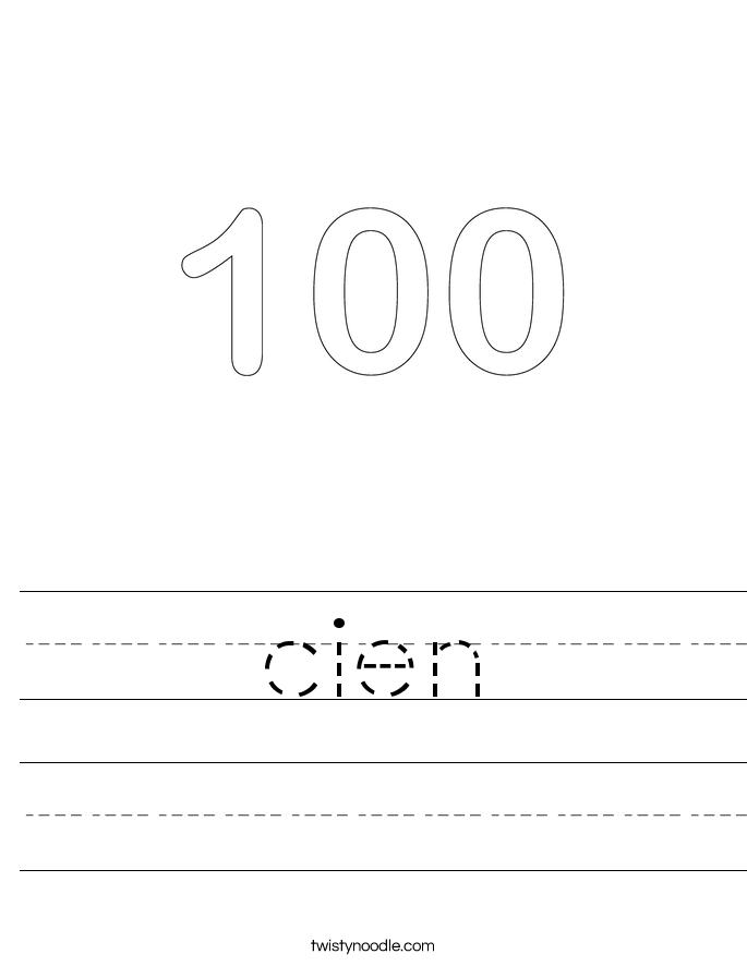cien Worksheet
