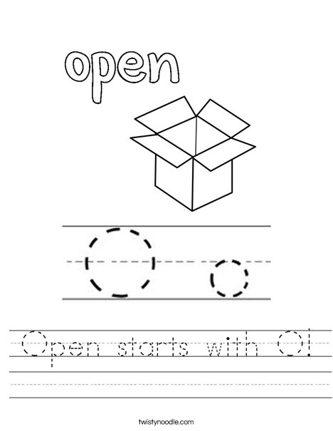 Open Worksheet