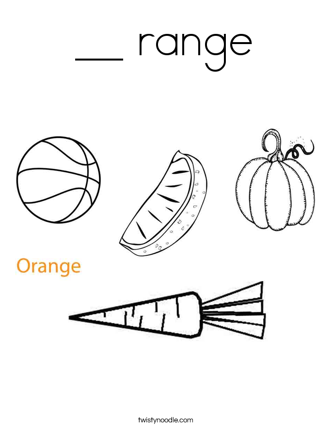 __ range Coloring Page