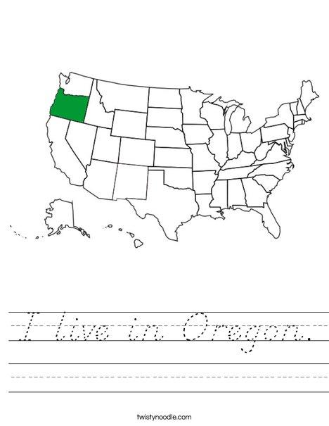Oregon Worksheet