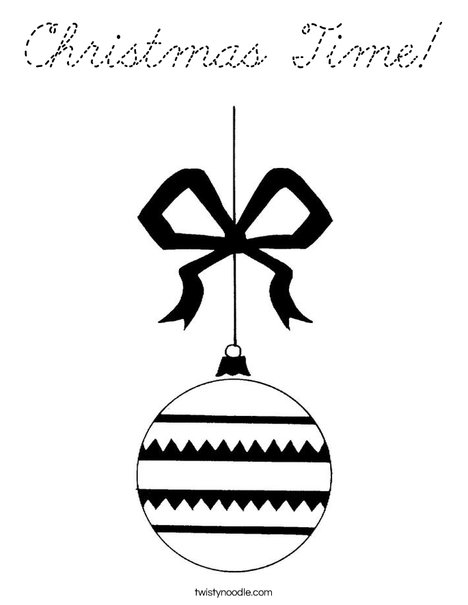 Ornament 2 Coloring Page