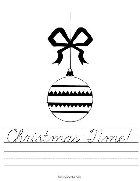 Ornament 2 Worksheet