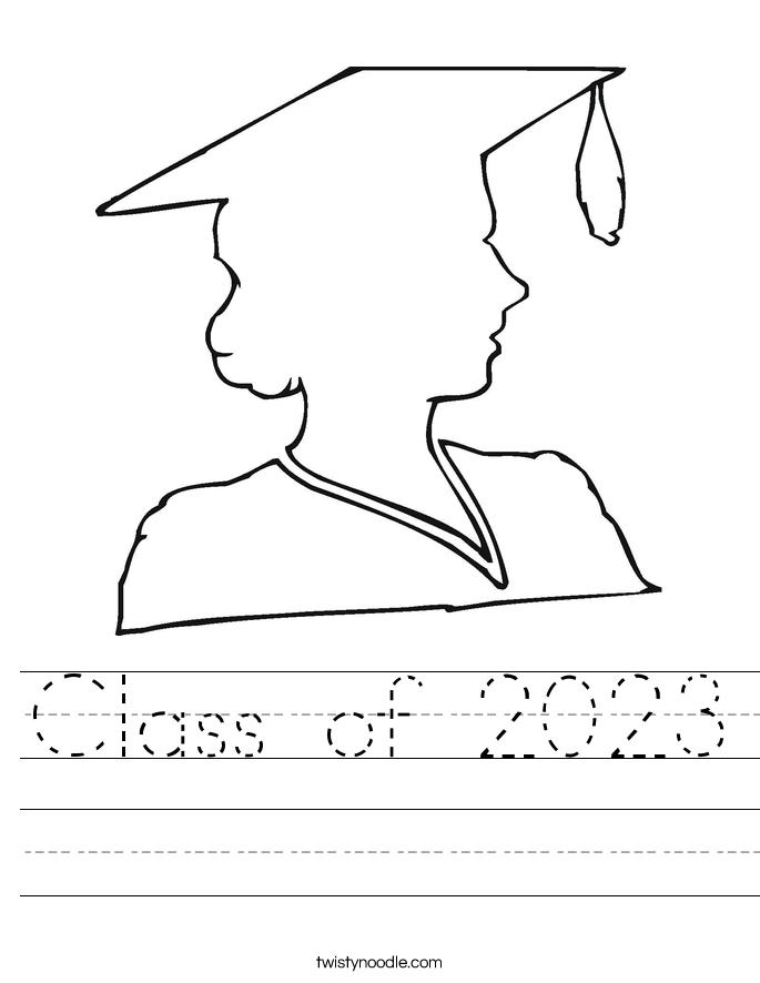 Class of 2023 Worksheet