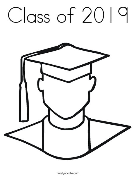 Graduation Coloring Pages - Coloringnori - Coloring Pages For Kids