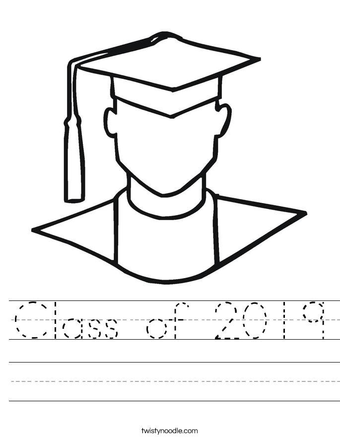 Class of 2019 Worksheet