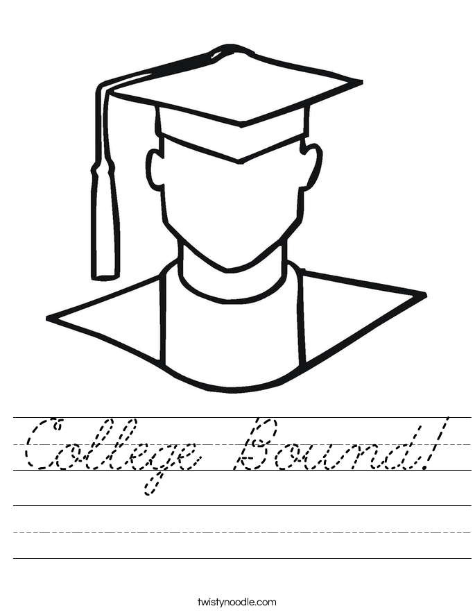 College Bound! Worksheet