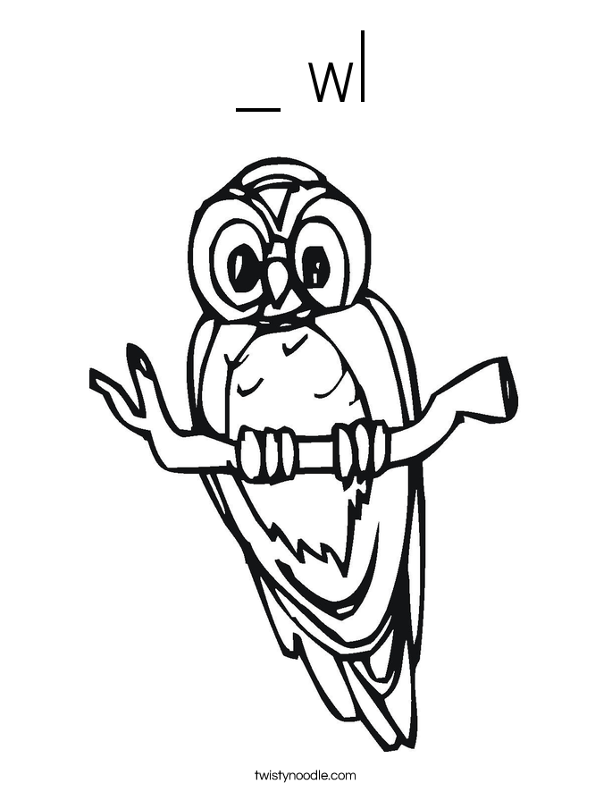 _ wl Coloring Page