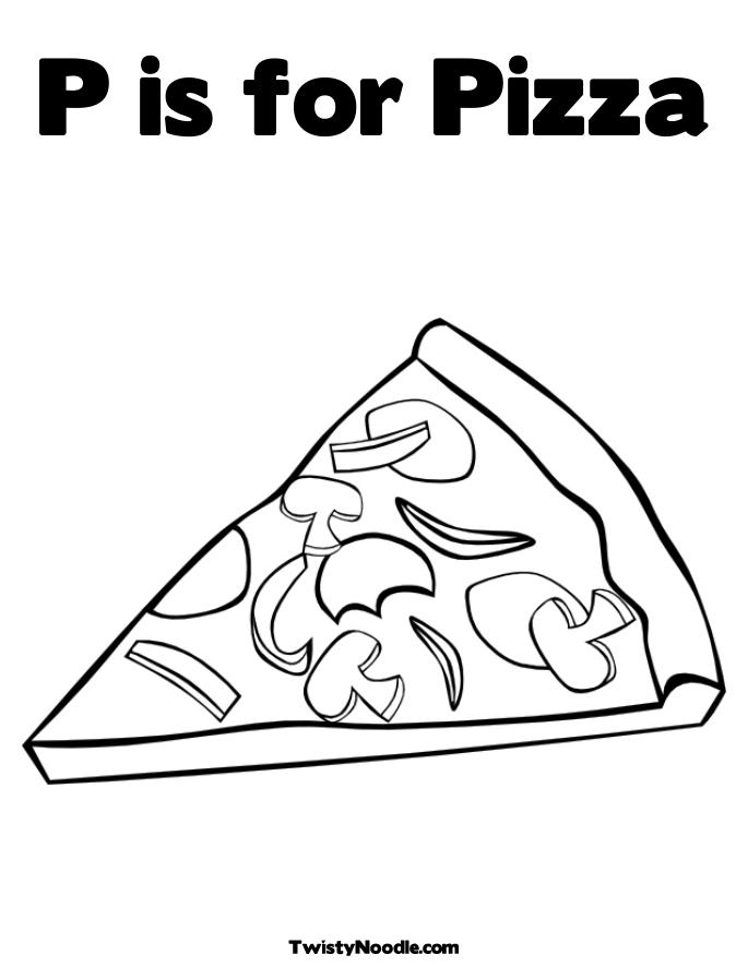 make a pizza coloring pages 2413876