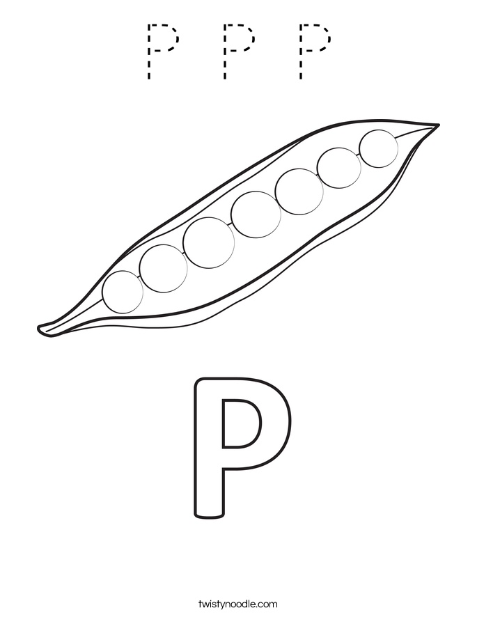 P P P Coloring Page