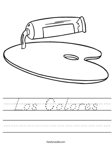 Paint Worksheet