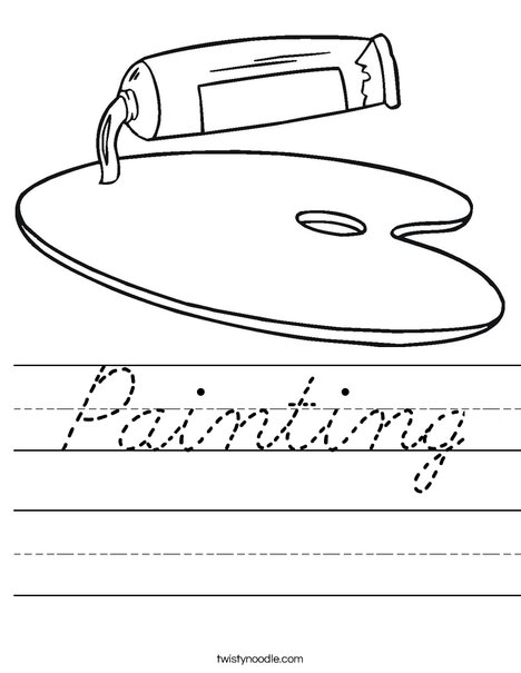 Paint Worksheet