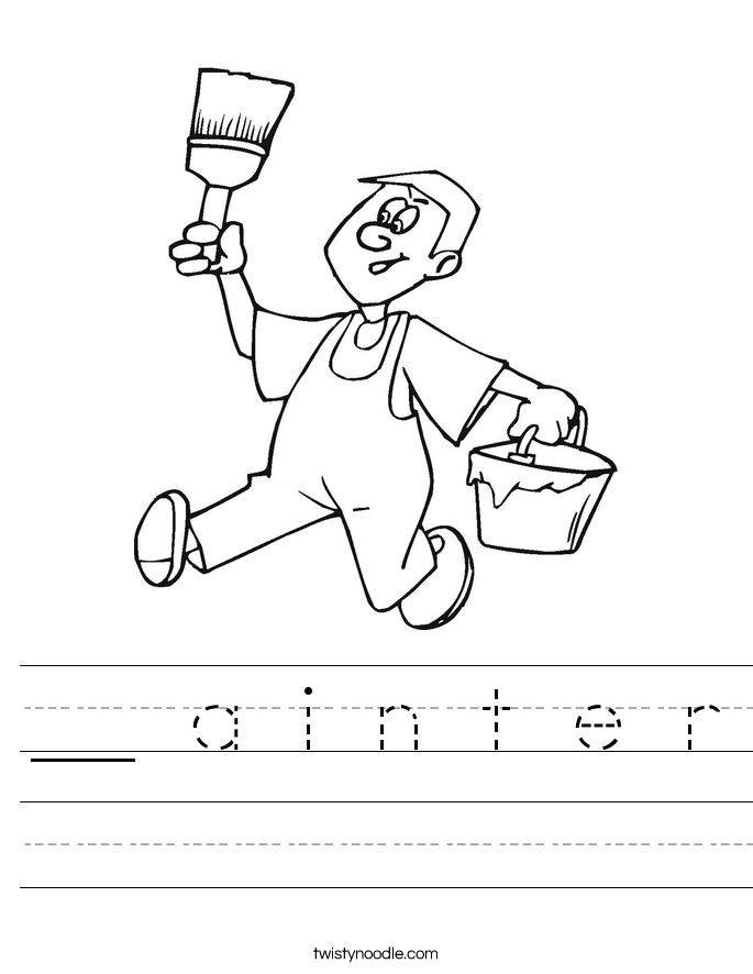 __ a i n t e r Worksheet