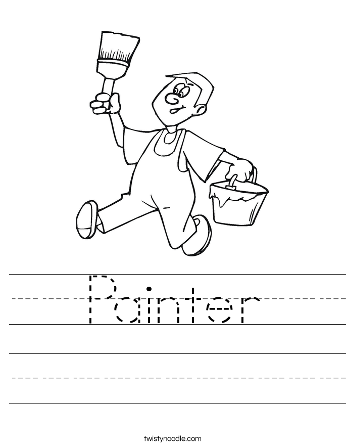 Painter Worksheet