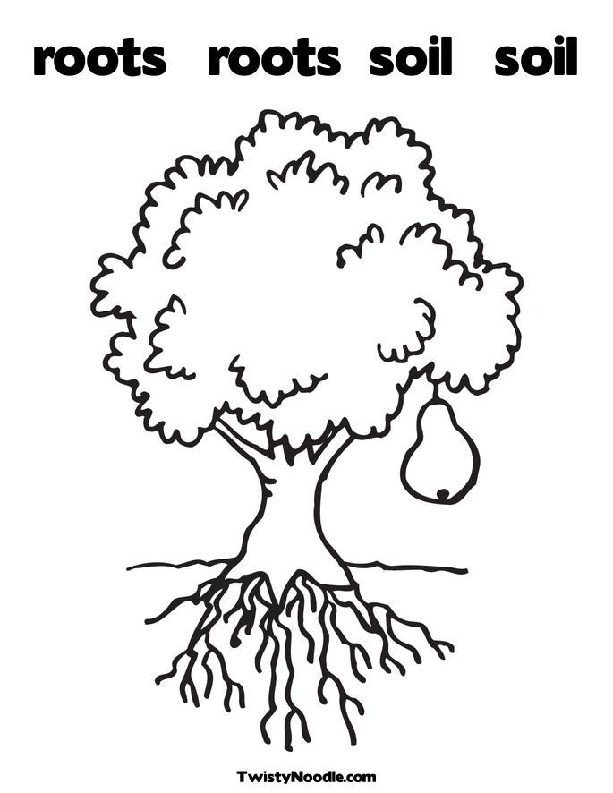 Soil Coloring Sheet Coloring Pages