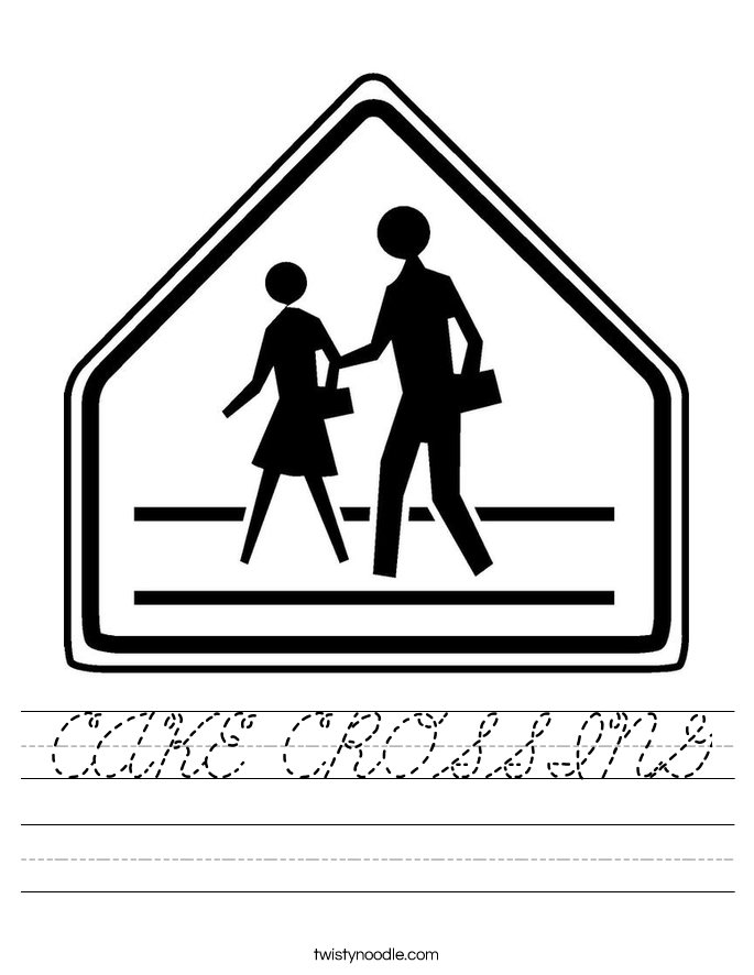 CAKE CROSSING Worksheet