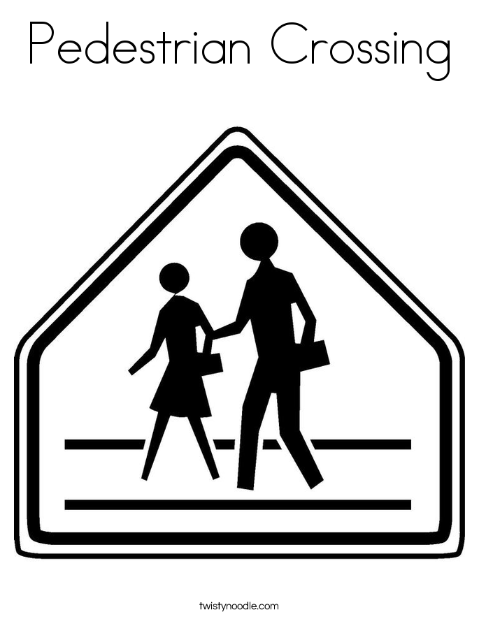 traffic signs and signals coloring pages twisty noodle - Construction Signs Coloring Pages