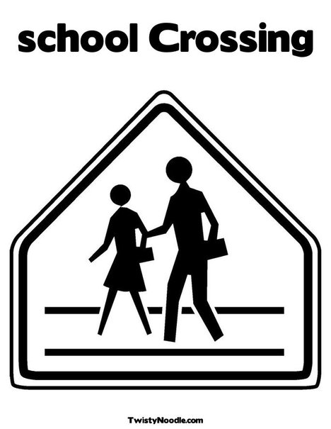 safety signs coloring pages - photo #22