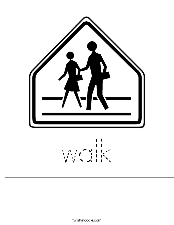 walk Worksheet