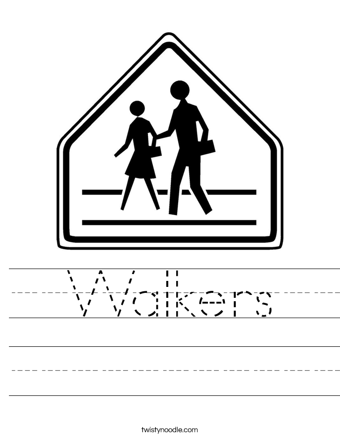 Walkers Worksheet