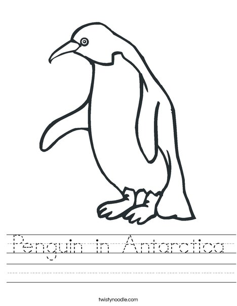 Penguin Worksheet