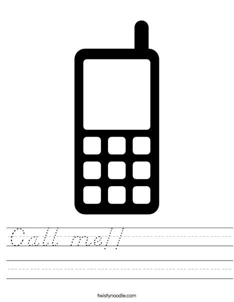 phone Worksheet