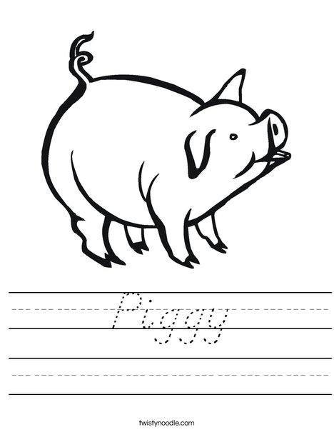 Pig Worksheet