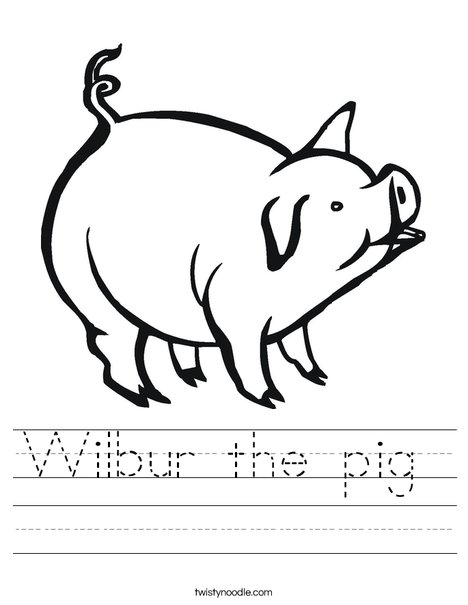 Pig Worksheet