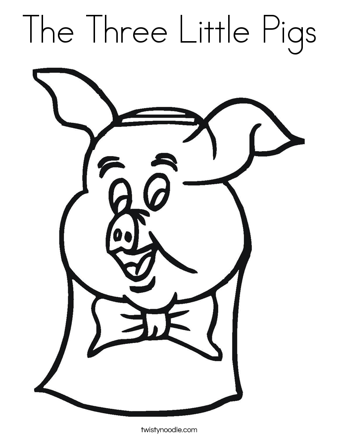 Gallery Three Little Pigs Houses Printable  Coloring