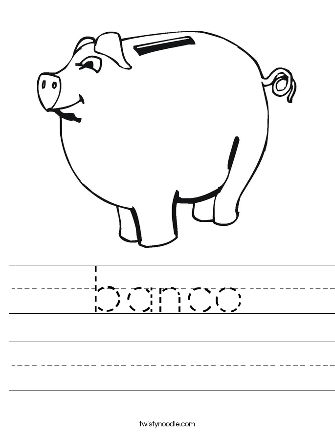 banco Worksheet