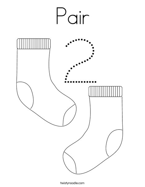 Two Pigs Coloring Page