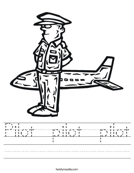 Pilot Worksheet