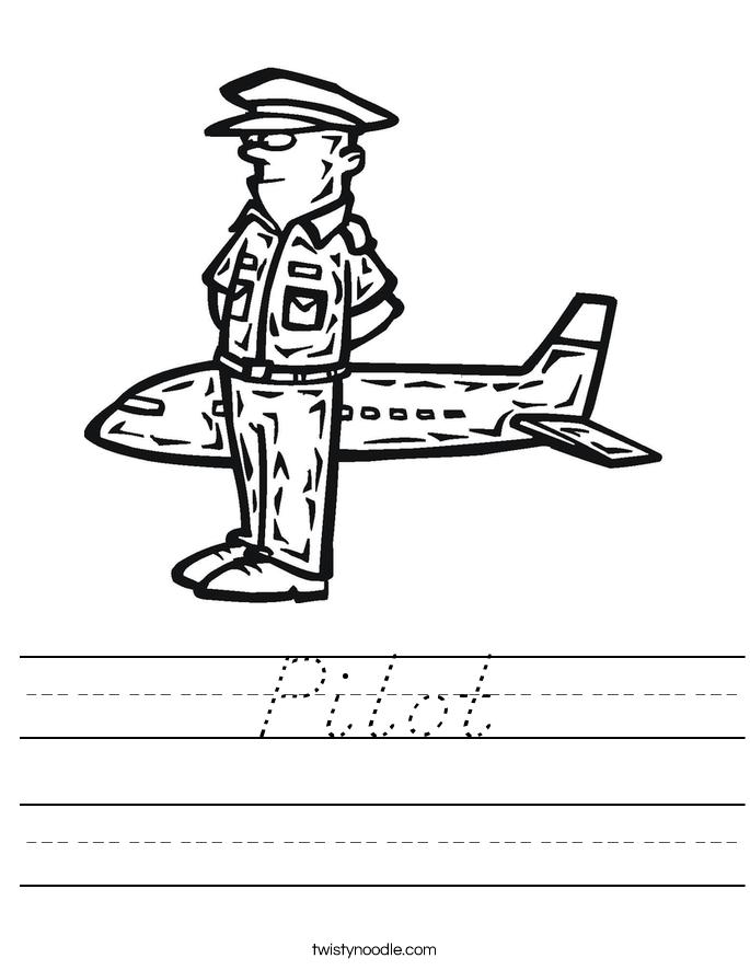 Pilot Worksheet