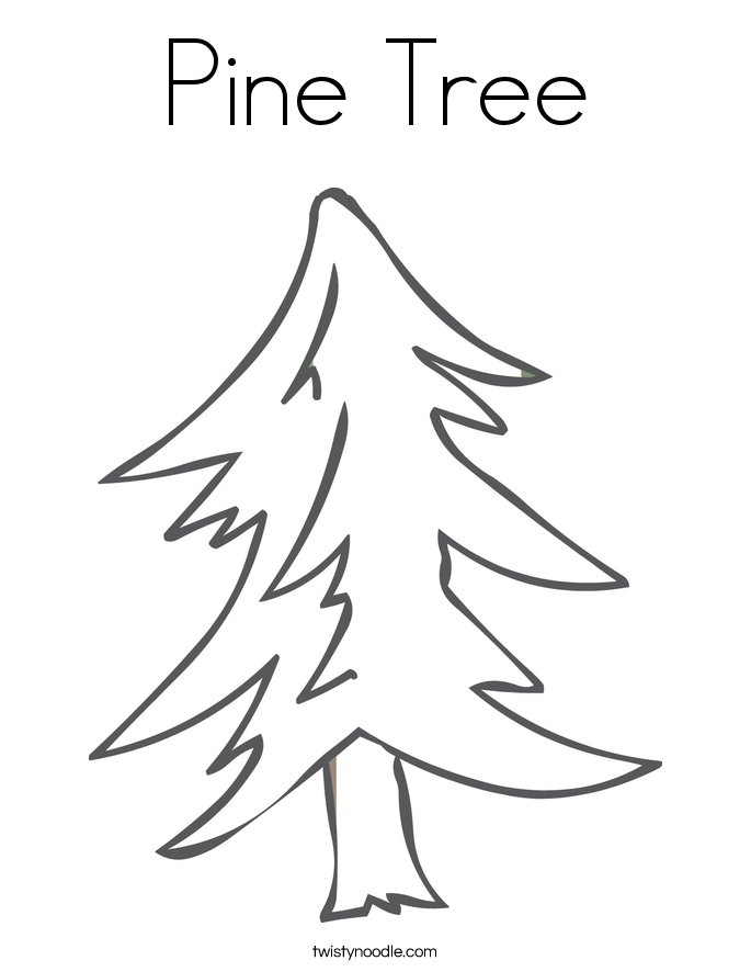 christmas palm tree coloring page