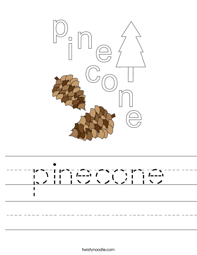 pinecone Worksheet