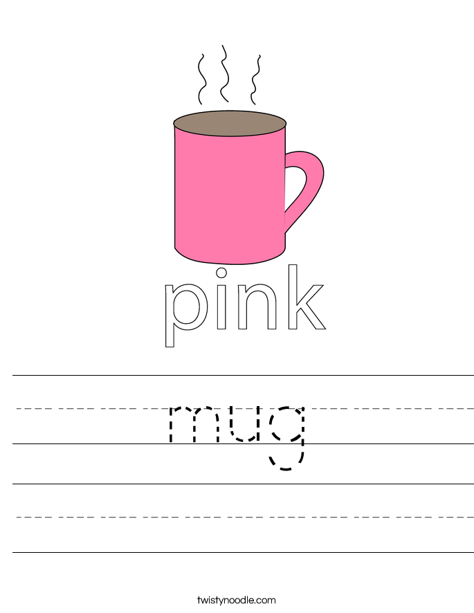 mug Worksheet