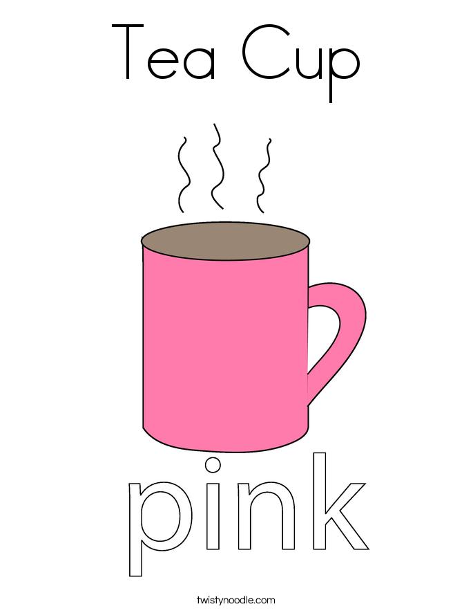 Tee-Tasse Färbung Sei...
