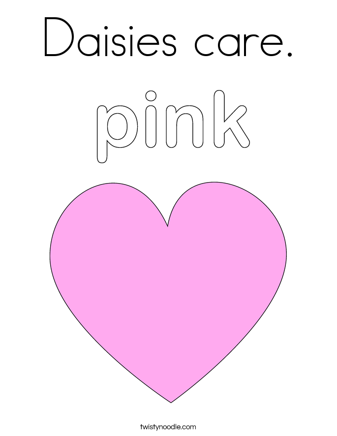 Daisies care. Coloring Page