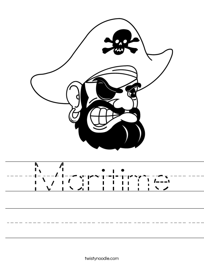 Maritime Worksheet