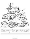 Stormy Seas Ahead Worksheet