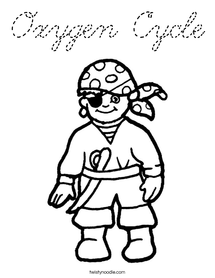 oxygen coloring pages - photo#6