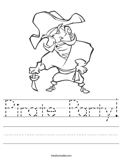 Pirate1 Worksheet