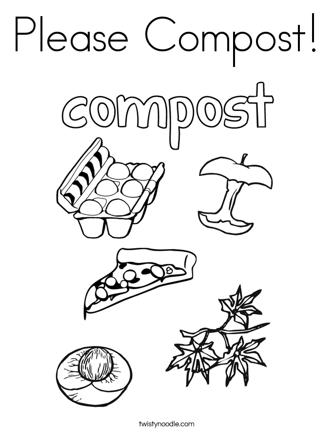 Compost pile to go with compost and sorting worksheet | Classroom ...