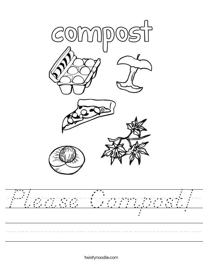 Please Compost! Worksheet