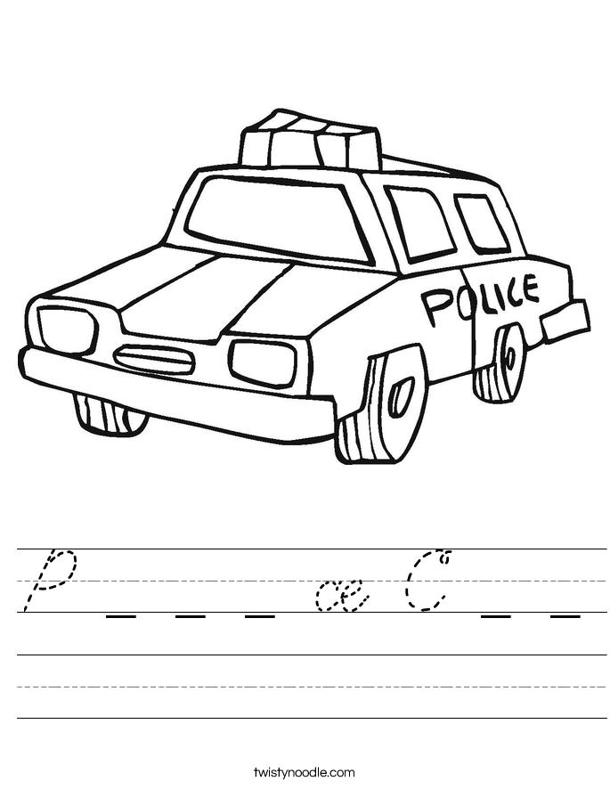 P _ _ _ ce C _ _ Worksheet