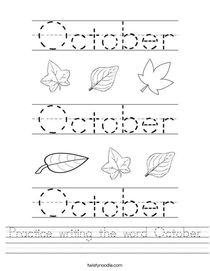 Worksheets and Printouts