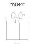 PresentColoring Page